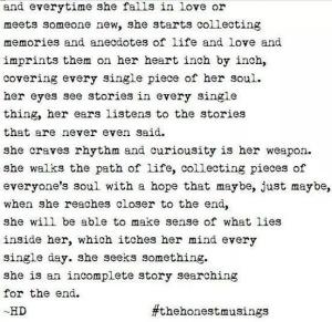 Verhalen horen en bewaren.