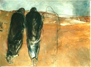 Janet Brooks Gerloff ( 1947- 2008 ) Amerikaanse geboren in Kansas. Zij studeerde in Noord Colorado kunstpedagogie.