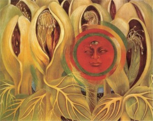 Sun and life, Frida Kahlo.